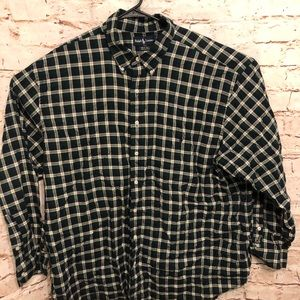 Ralph Lauren Plaid Big and Tall 2XL Button Up